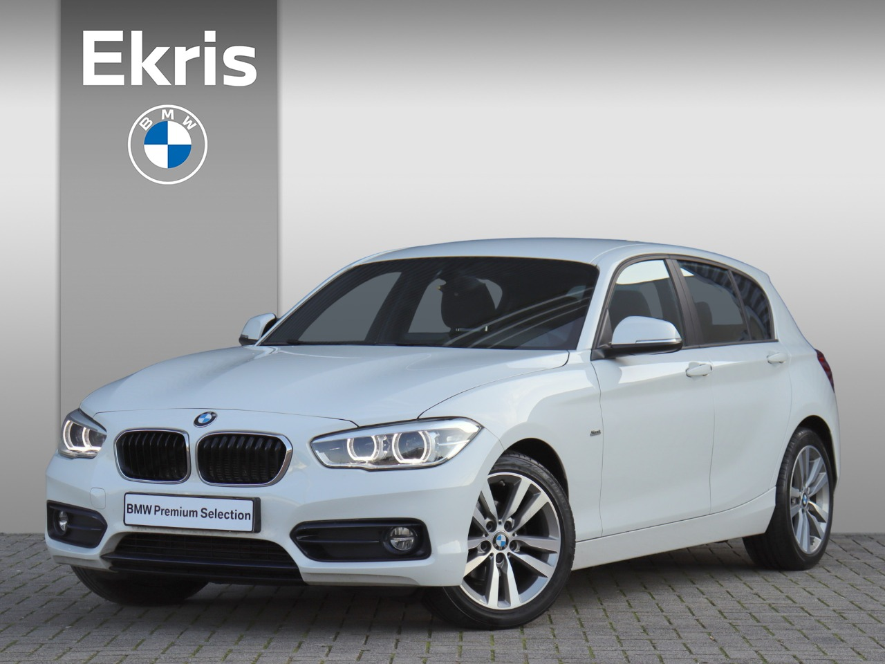 Bmw 1 serie 116i executive / sport line / 17'' / led / m-sport stuurwiel