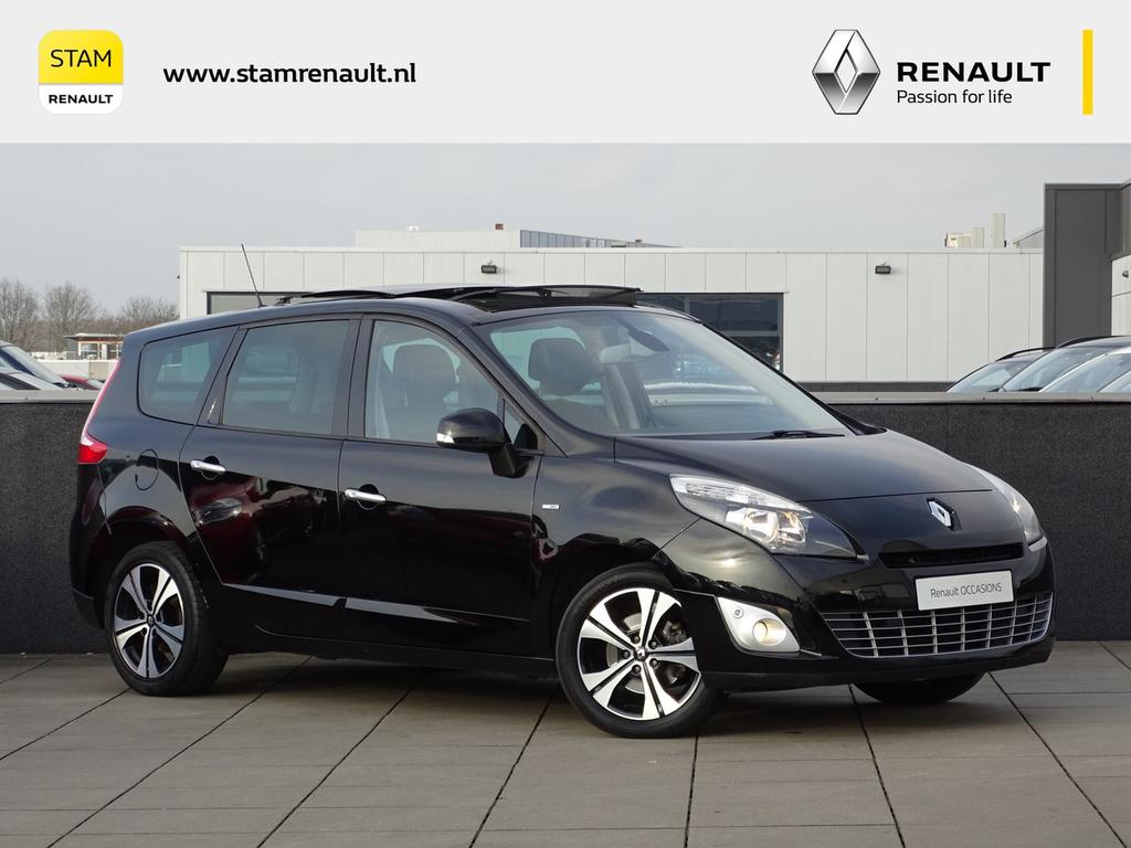 Renault Grand scénic Tce 130pk bose glazen dak, navig., climate, trekhaak