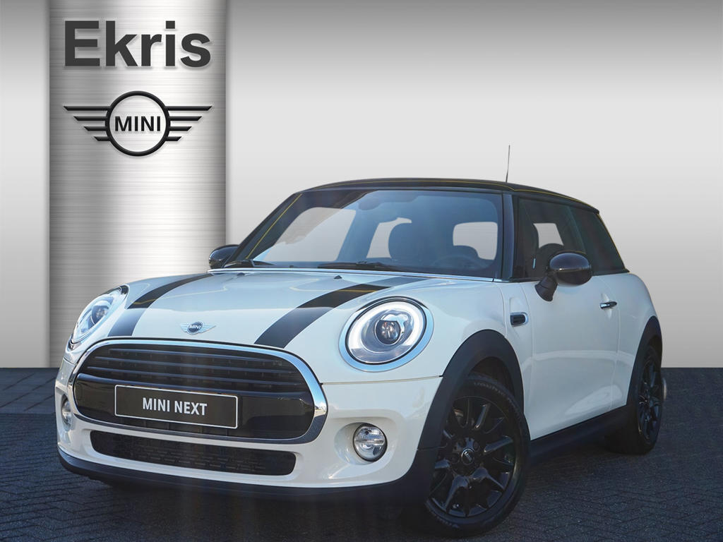 Mini 3-deurs Cooper serious business + jcw interieur
