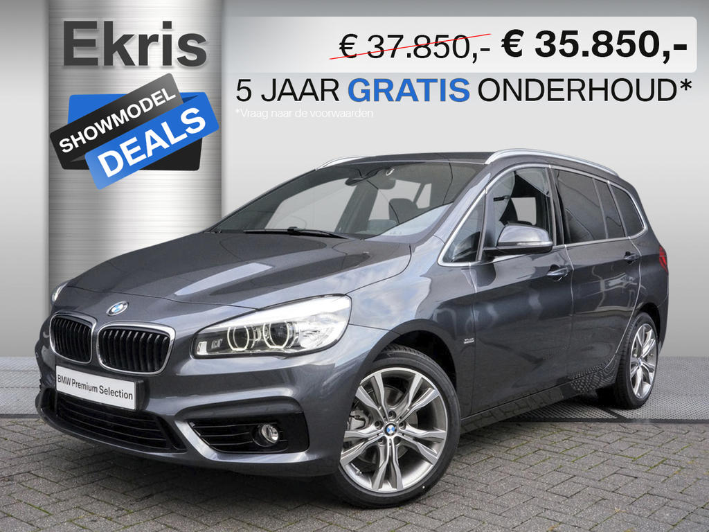 Bmw 2 serie 218d gran tourer aut. executive sportline - showmodel deal
