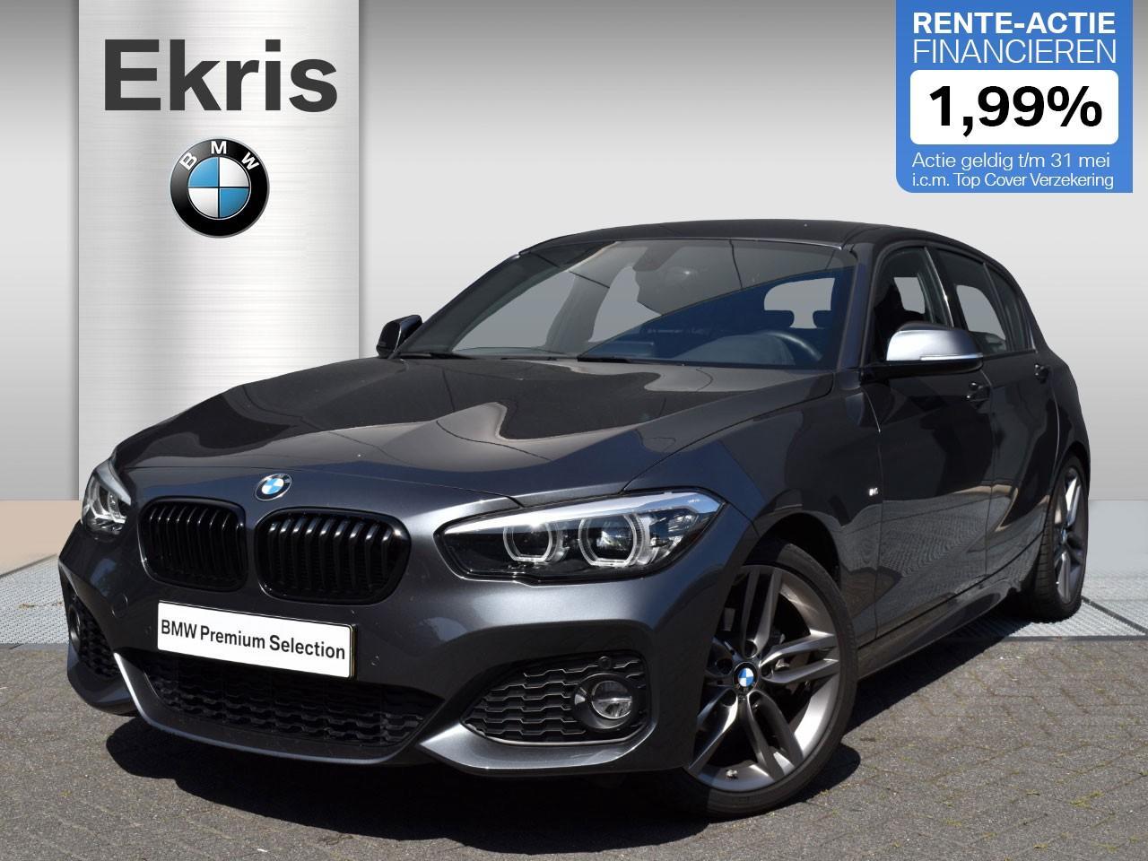 Bmw 1 serie 118i 5-deurs aut. high executive m sportpakket / lederen sportstoelen - showmodel deal