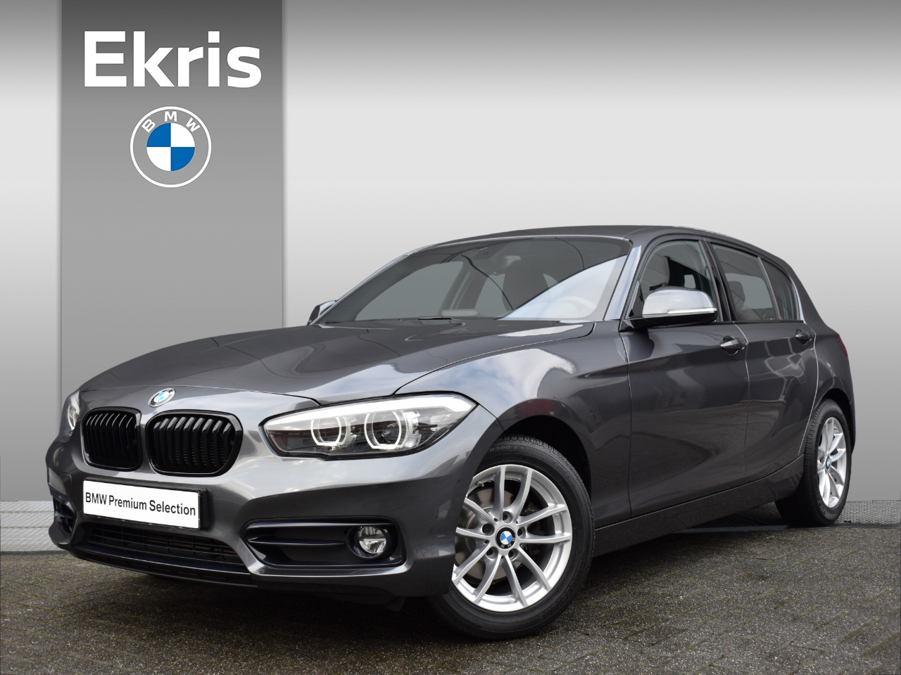 "Bmw 1 serie 118i aut. corporate lease executive shadow line / sportstoelen / navigatie / pdc / 16"" - 2 jaar garantie!!"