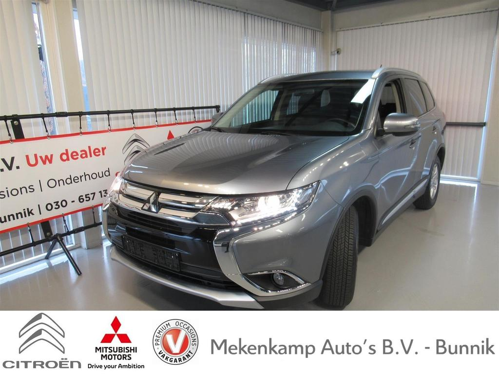 "Mitsubishi Outlander 2.0 business edition 16""/camera/stoelverwarming/climate/cruise/bluetooth"
