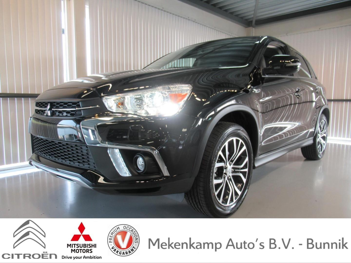"Mitsubishi Asx 1.6 cleartec connect pro+ 18""/leder/xenon/apple carplay & android auto/camera/climate/cruise/bluetooth"