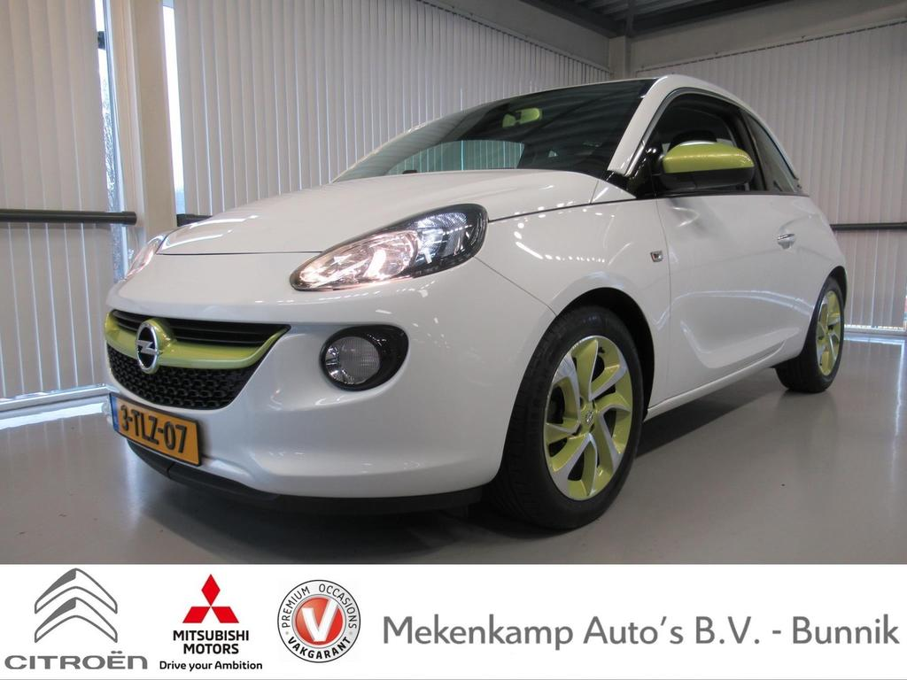 "Opel Adam 1.2 jam 16""/airco/pdc/touchscreen/bluetooth/usb"
