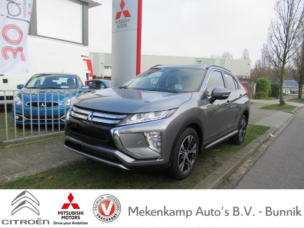 "Mitsubishi Eclipse cross 1.5 di-t first edition cvt 18""/led/apple carplay & android auto/360 camera/pdc v+a/stoelverwarming/dodehoek/climate/cruise/bluetooth"