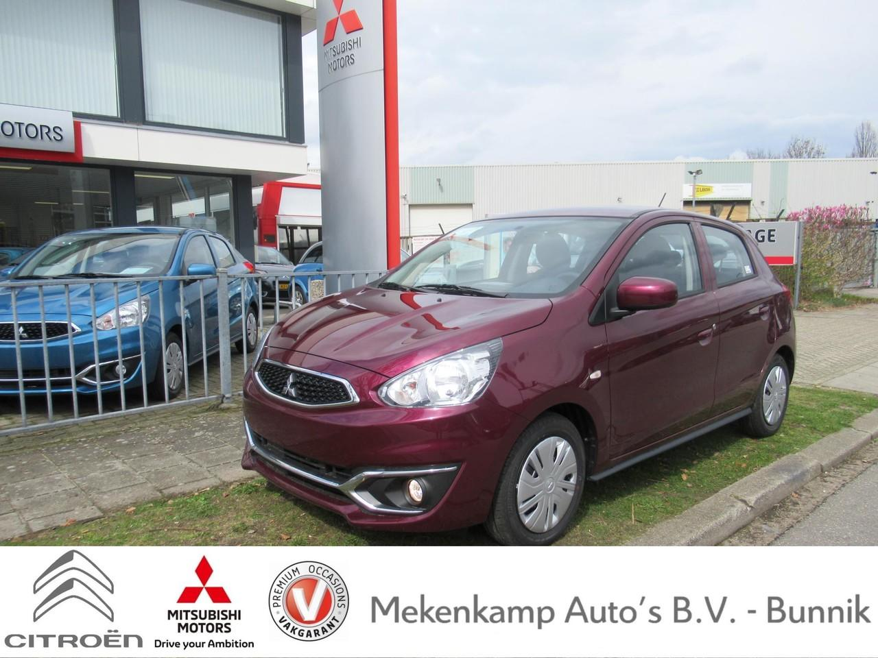 Mitsubishi Space star 1.0 cool+ airco/radio-cd/centrale vergrendeling