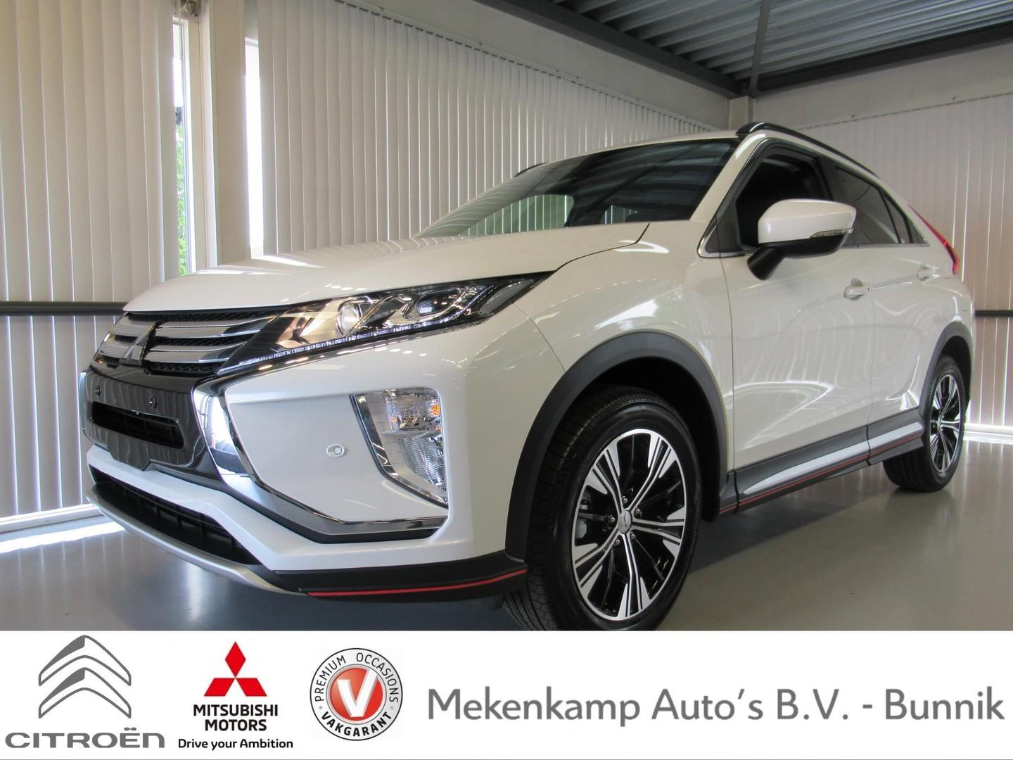 "Mitsubishi Eclipse cross 1.5 di-t intense s 18""/leder/stoelverwarming/apple carplay & android auto/camera/pdc v+a/climate/cruise/bluetooth"