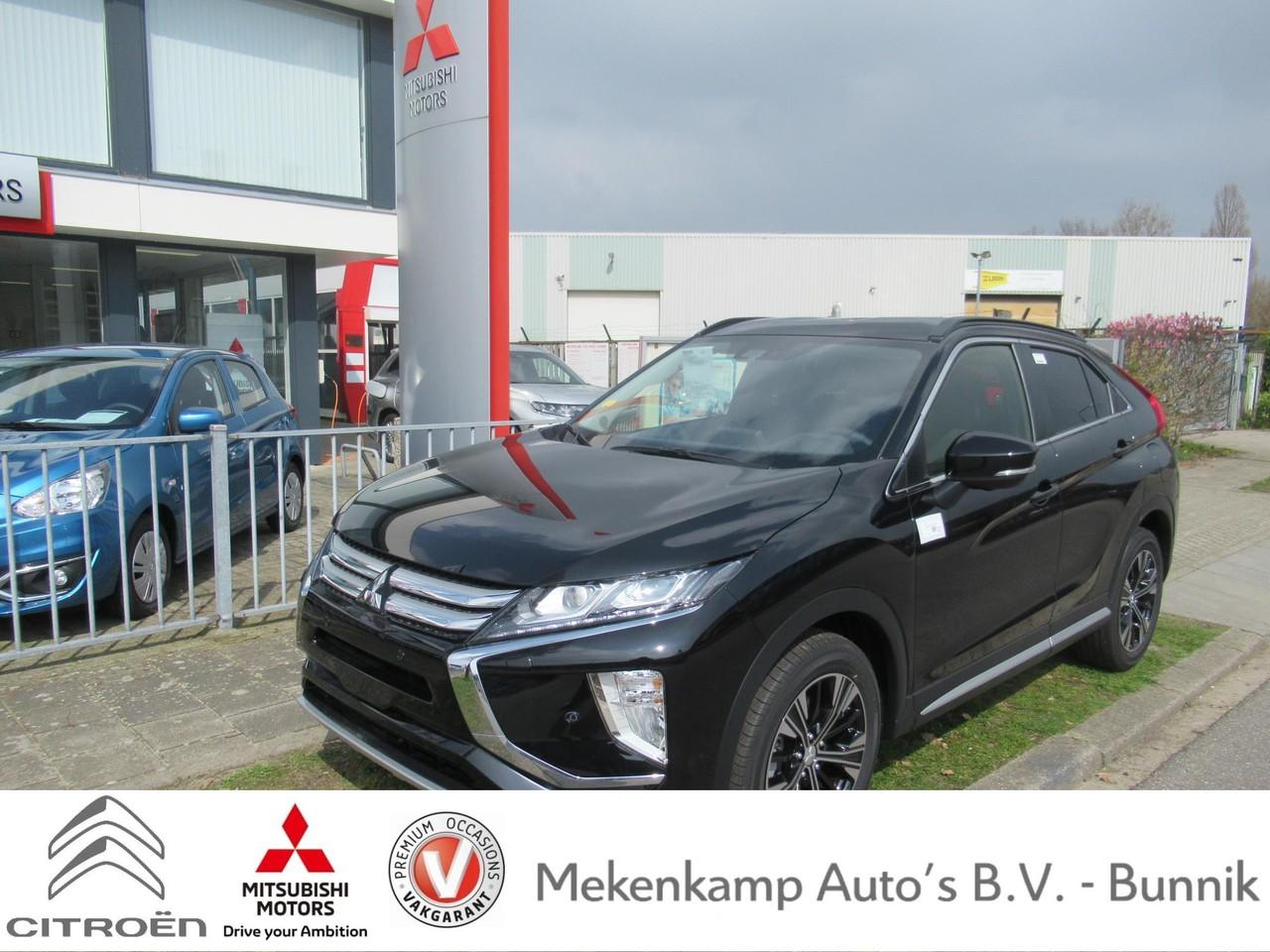"""Mitsubishi Eclipse cross 1.5 di-t first edition 18""""/led/apple carplay & android auto/360 camera/pdc v+a/stoelverwarming/dodehoek/climate/cruise/bluetooth"""