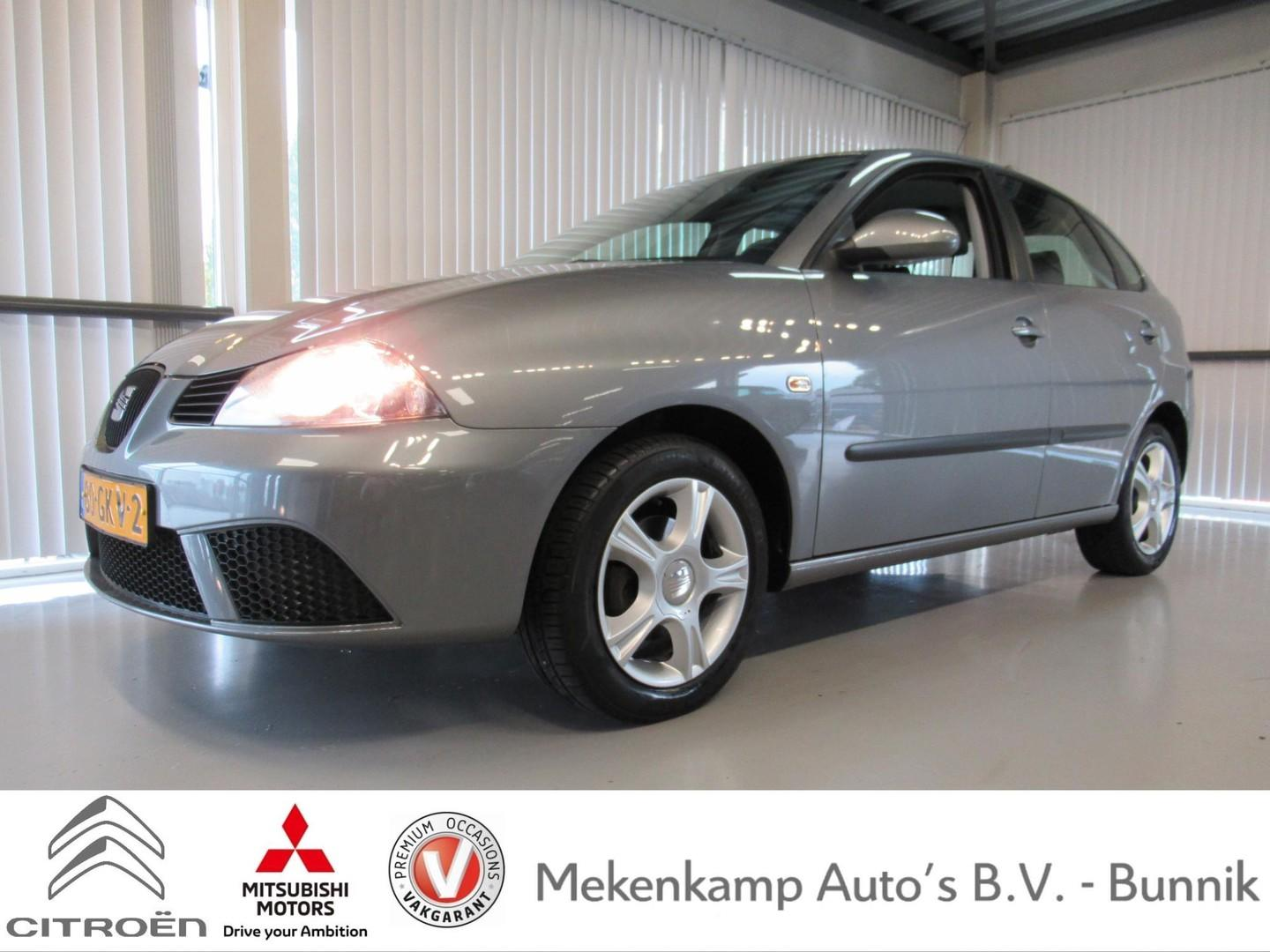 """Seat Ibiza 1.4-16v trendstyle 5drs 15""""/airco/cruise/bluetooth/trekhaak"""