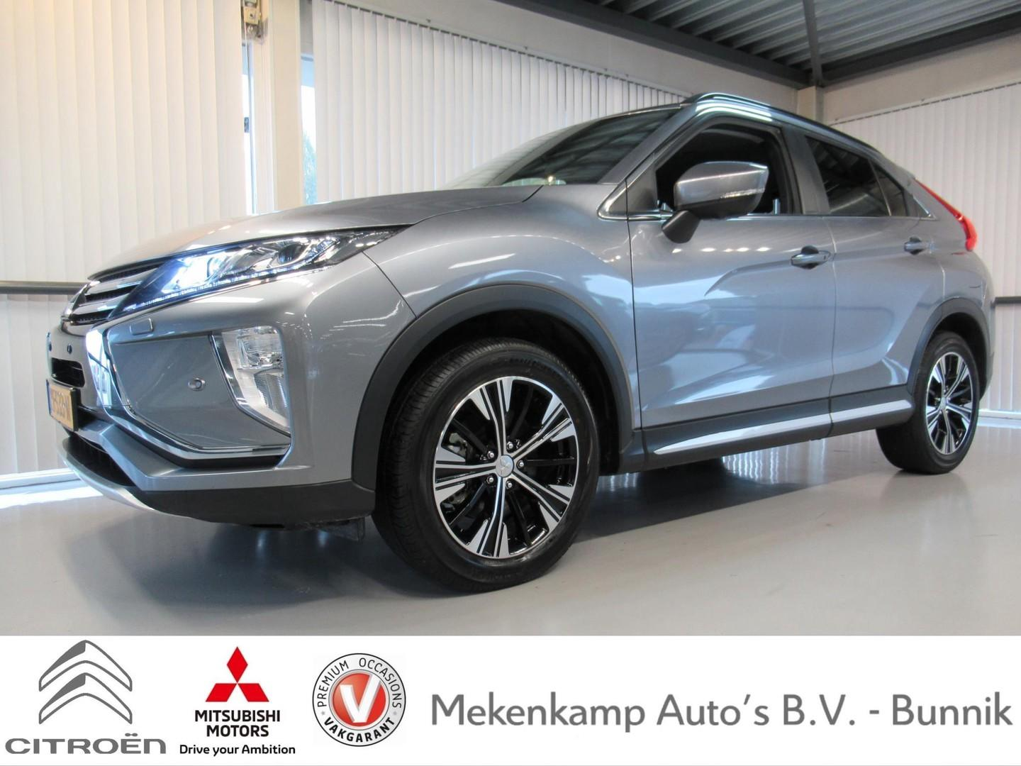 """Mitsubishi Eclipse cross 1.5 di-t first edition cvt 18""""/led/apple carplay & android auto/360 camera/pdc v+a/stoelverwarming/dodehoek/climate/cruise/bluetooth"""