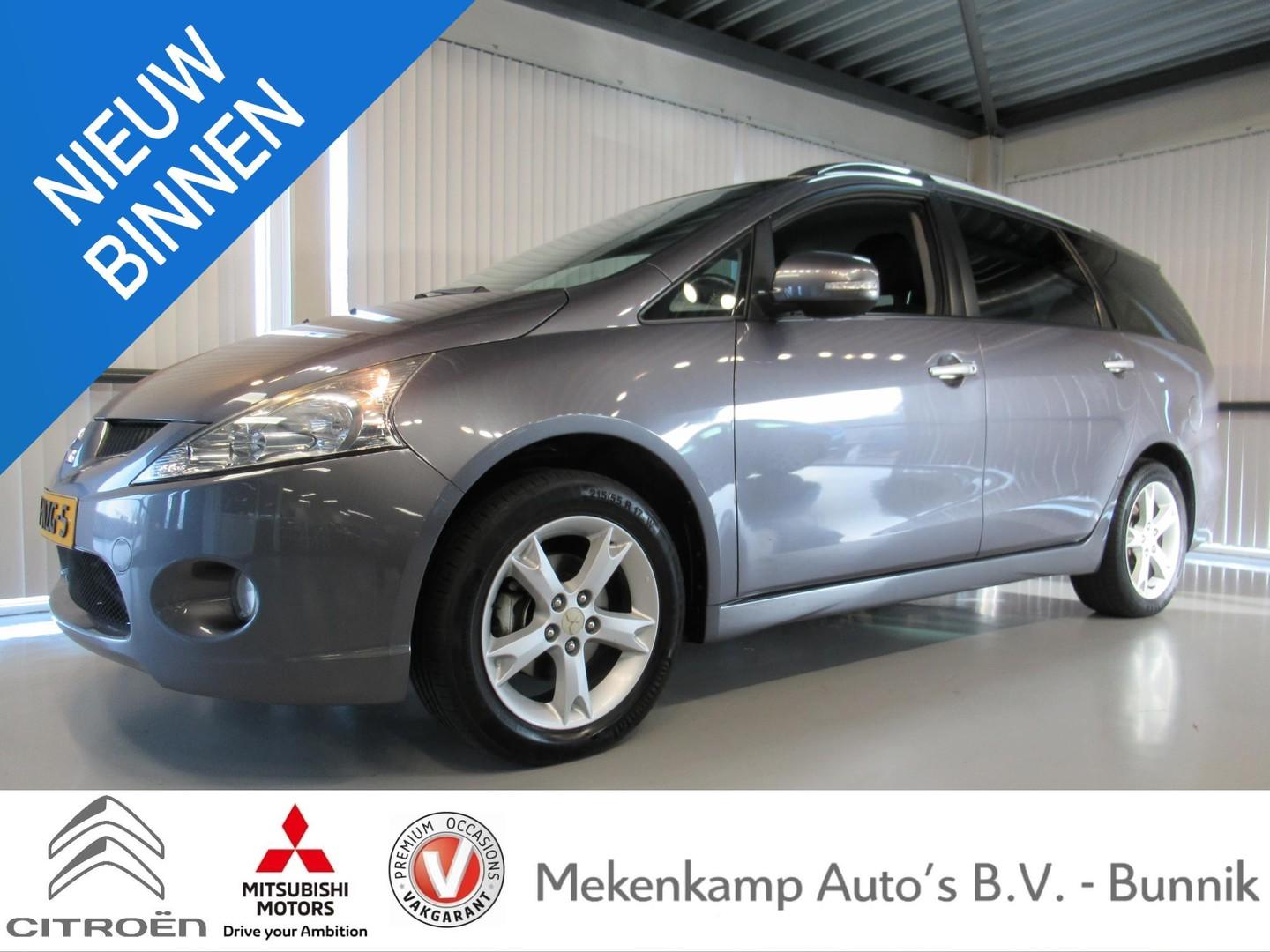 """Mitsubishi Grandis 2.4-16v limited 7 pers. 17""""/trekhaak/pdc/climate/cruise"""