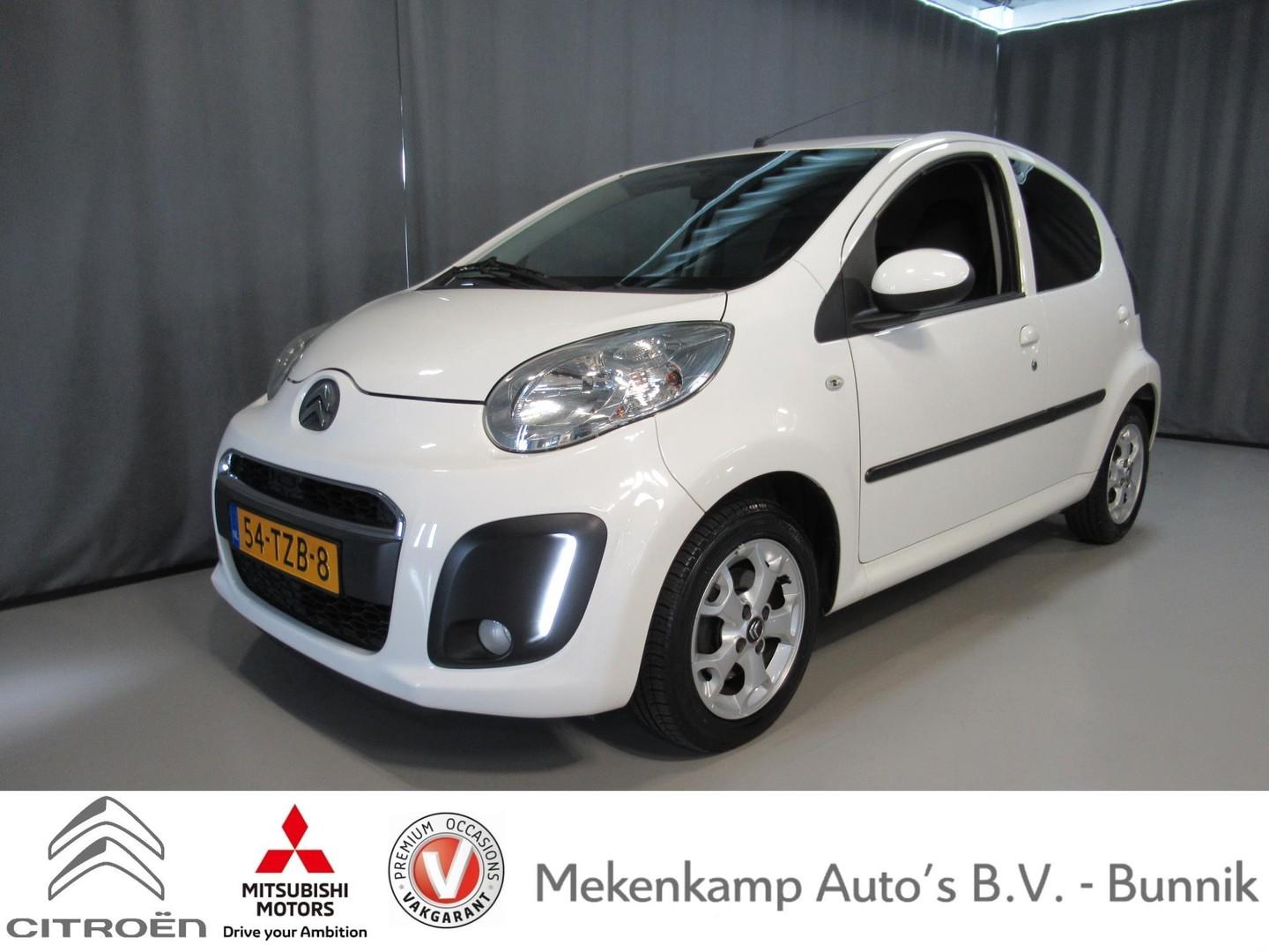 "Citroën C1 1.0 first edition 5drs 14""/airco/bluetooth/radio-cd"