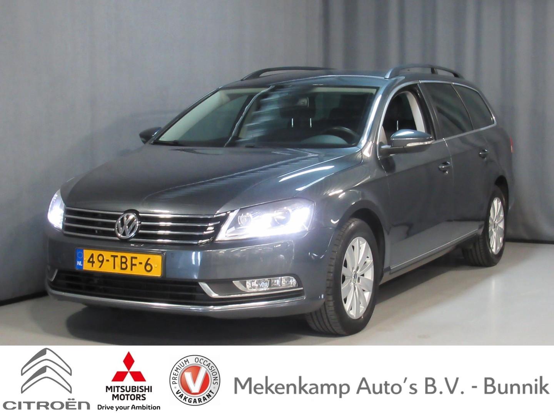Volkswagen Passat Variant 1.8 tsi comfortline xenon/trekhaak/stoelverwarming/keyless/pdc v+a/navigatie/voorruitverwarming