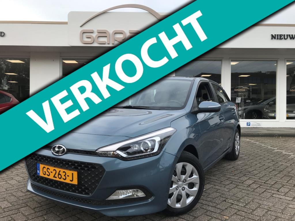 Hyundai I20 1.2 hp i-motion comfort org. nl