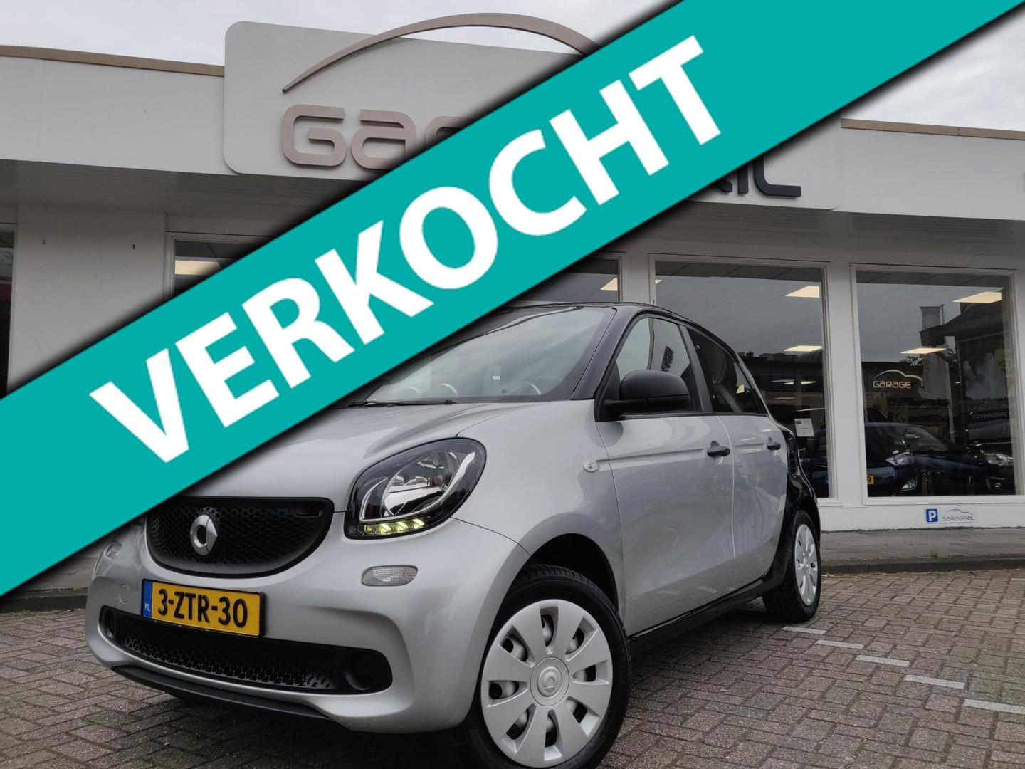 Smart Forfour 1.0 essential edition org.nl