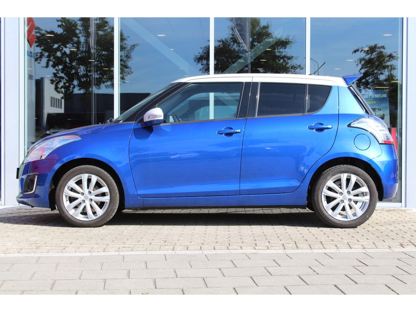 Suzuki Swift 1.2 exclusive easss clima / cruise / privacy-glass / two-tone vanaf € 159,- p.mnd