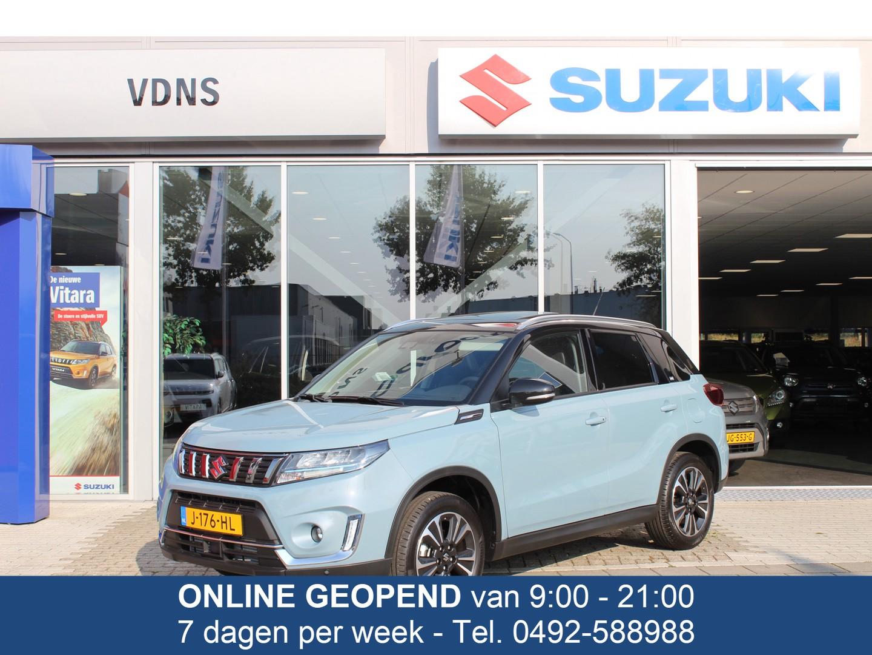 Suzuki Vitara 1.4 boosterjet stijl smart hybrid €28.950 btw navi clima pdc pano cruise info 0492588976 of 0614332410