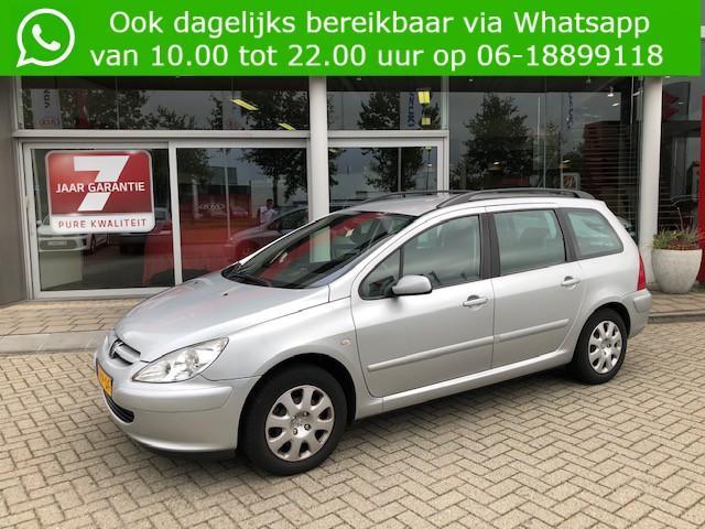 Peugeot 307 Break 1.6-16v xs premium 1e eigenaar!! 117.000km perfecte staat complete onderhouds historie aanwezig info roel: 0492-588951