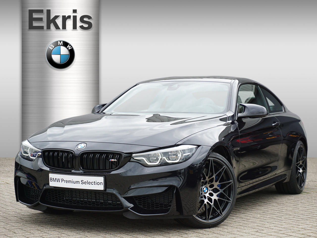 Bmw M4 Competition m performance uitlaatsysteem
