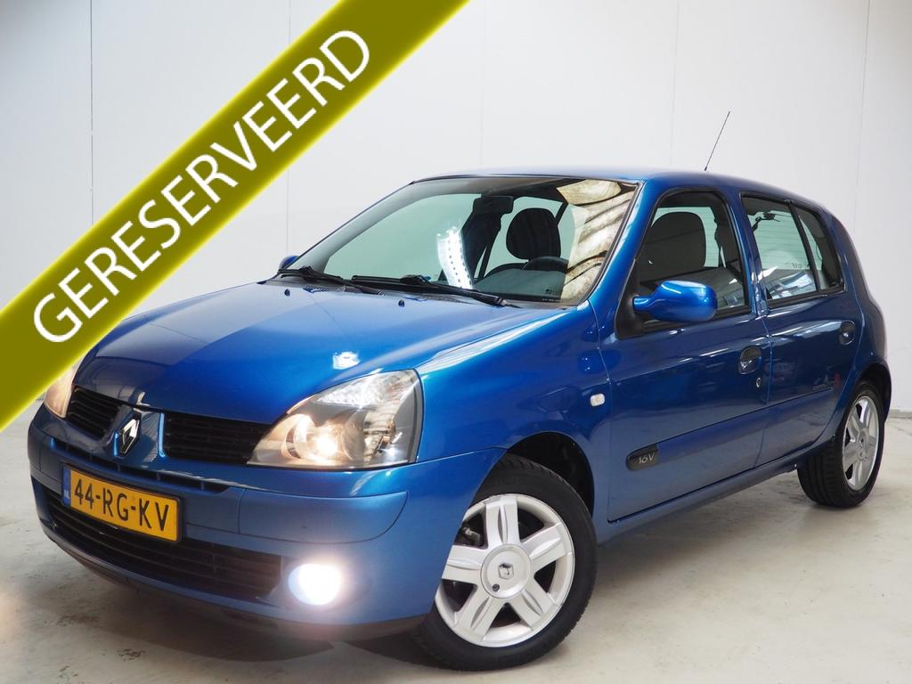 Renault Clio 1.2-16v drive, 5drs, airco, abd onderhouden