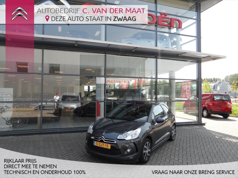 Citroën Ds3 1.2 vti 82pk chic cabrio rijklaar prijs