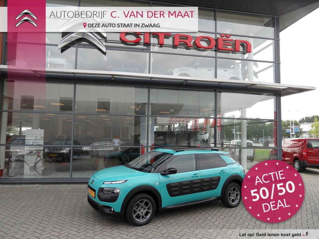 Citroën C4 cactus Vti 82pk automaat shine rijklaar