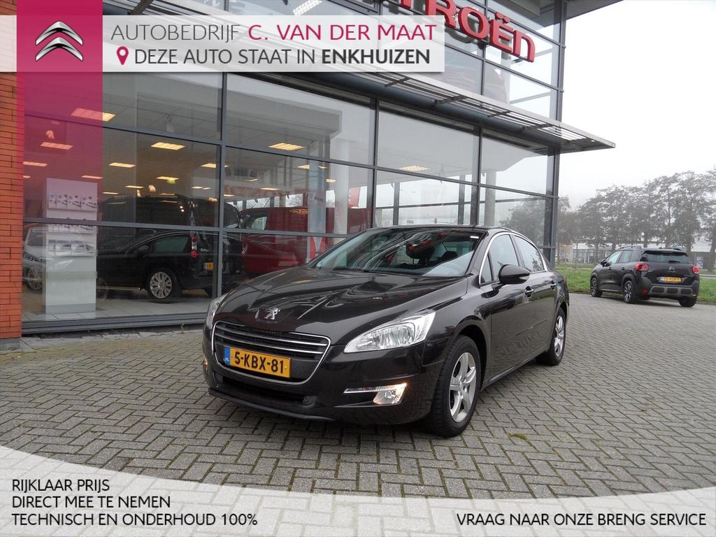 Peugeot 508 1.6 thp 156pk blue lease executive rijklaar prijs