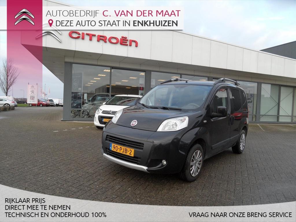 Fiat Qubo 1.4 8v 73pk trekking limited edition rijklaar prijs