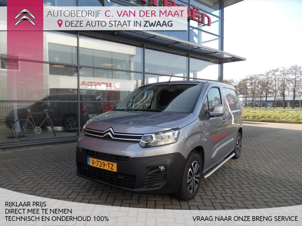 Citroën Berlingo Van new gb 1.6 bluehdi 100pk s&s l1 club nu bij ons in showroom