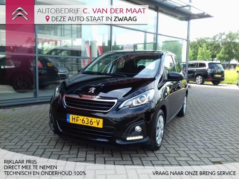Peugeot 108 1.0 vti 68pk 5d blue lease airco rijklaar prijs