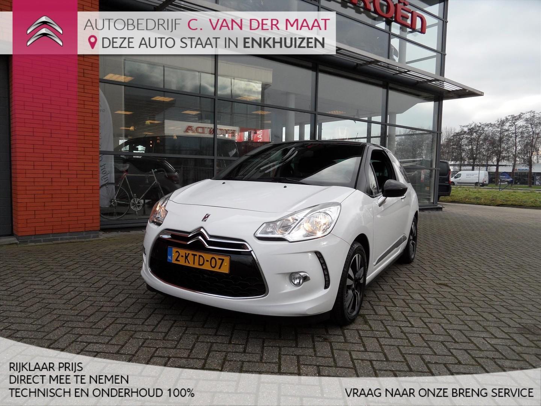 Citroën Ds3 1.2 vti 82pk so chic rijklaar prijs