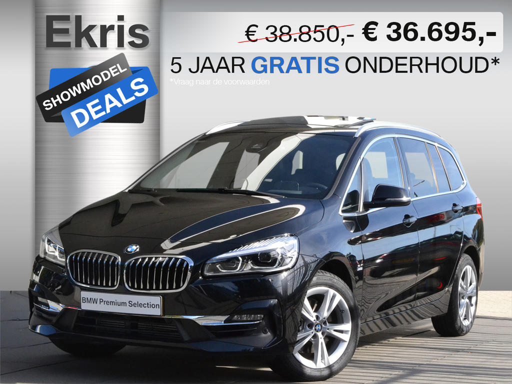 Bmw 2 serie 218i gran tourer high executive luxury line - showmodel deal
