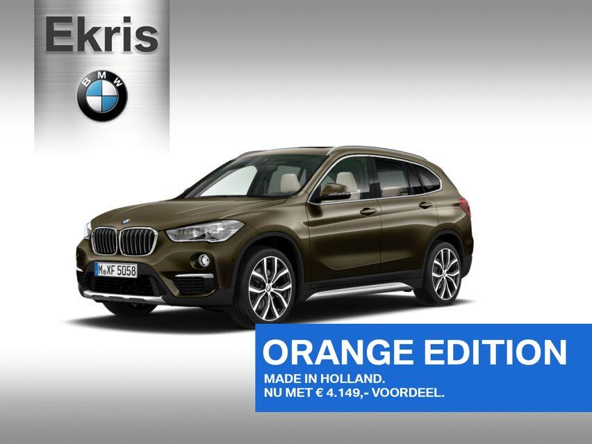 Bmw X1 Sdrive 20i aut high executive model xline orange edition