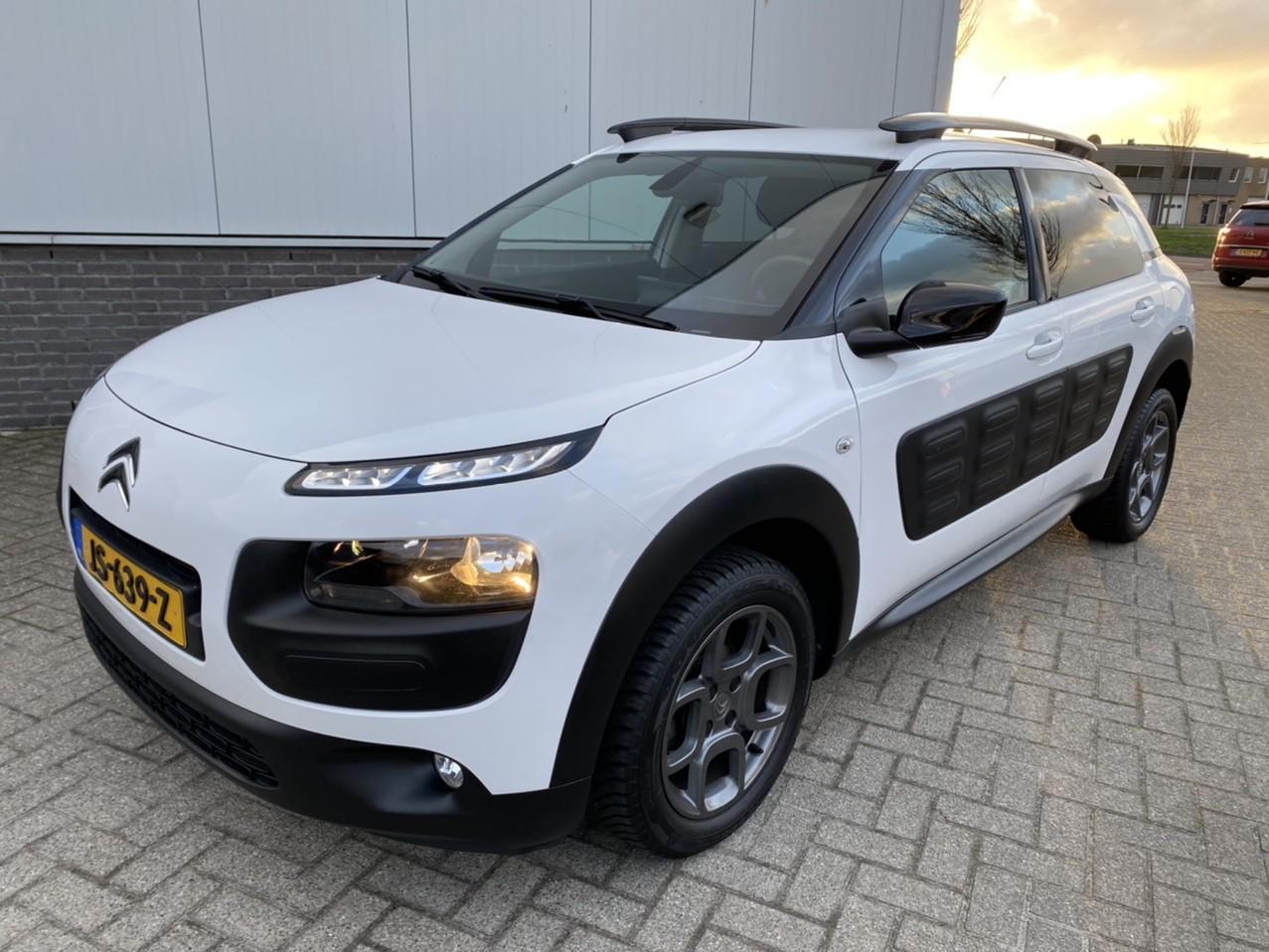 Citroën C4 cactus Vti 82pk shine navigatie rijklaar prijs