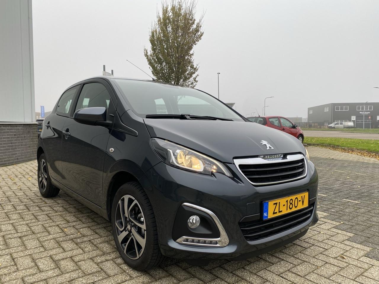 Peugeot 108 72 pk full options rijklaar prijs
