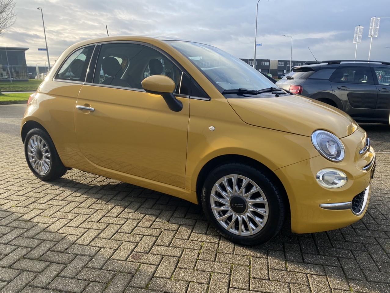 Fiat 500 Automaat open dak leer rijklaar prijs