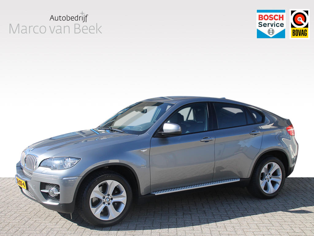 Bmw X6 3.5d high executive aut. sportpakket leer navi camera verkocht