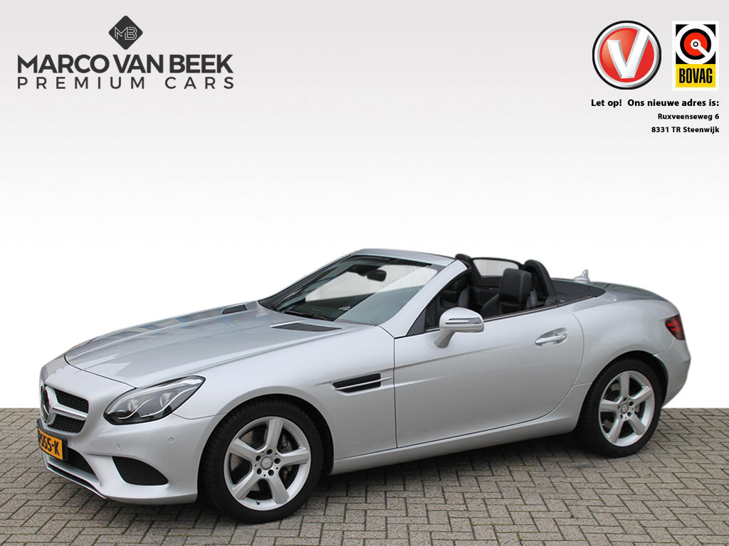 Mercedes-benz Slc 200 aut. keyless go distronic navi leer led stoelverwarming
