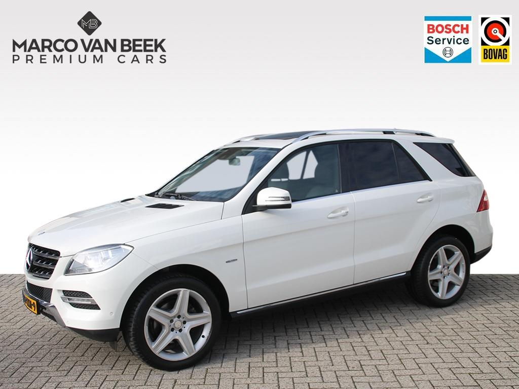 Mercedes-benz M-klasse Ml 350 bluetec aut. comand schuifdak leer trekhaak