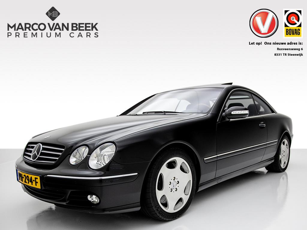 Mercedes-benz Cl-klasse Cl 600 aut. v12 youngtimer schuifdak btw