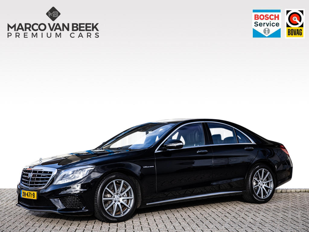 Mercedes-benz S-klasse S 63 amg keyless distronic comand nw.pr. € 205.161