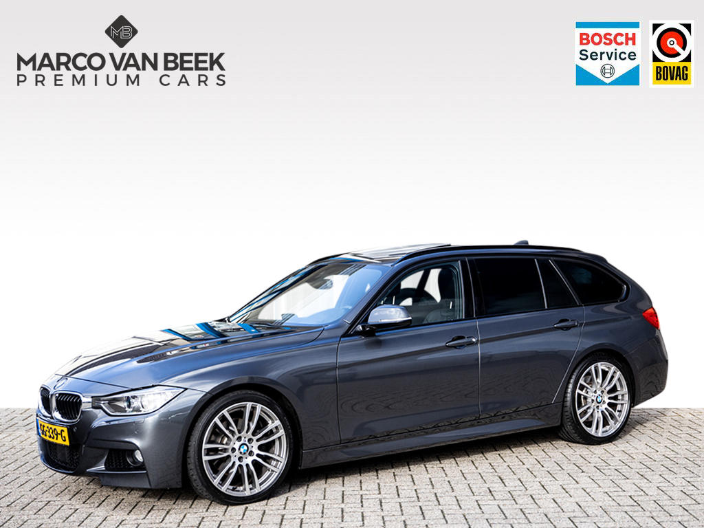 Bmw 3 serie Touring 330d high executive m-pakket pano acc 19 inch nw.pr.€ 78.818