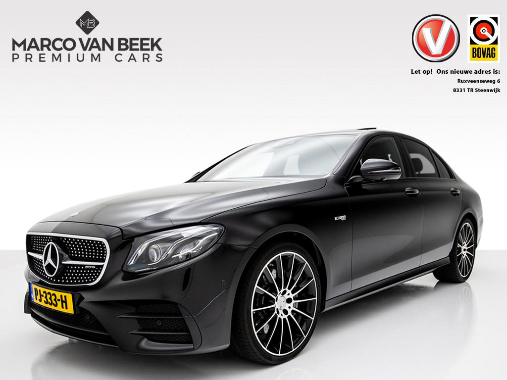 Mercedes-benz E-klasse E 43 amg 4matic dak night leer head up verkocht