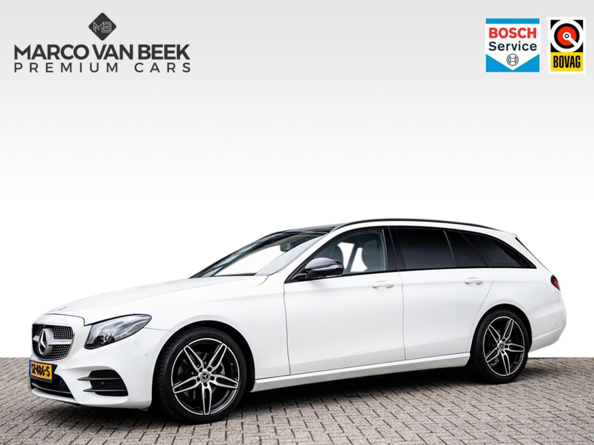 Mercedes-benz E-klasse E 220 d aut. estate amg pano standkachel trekhaak