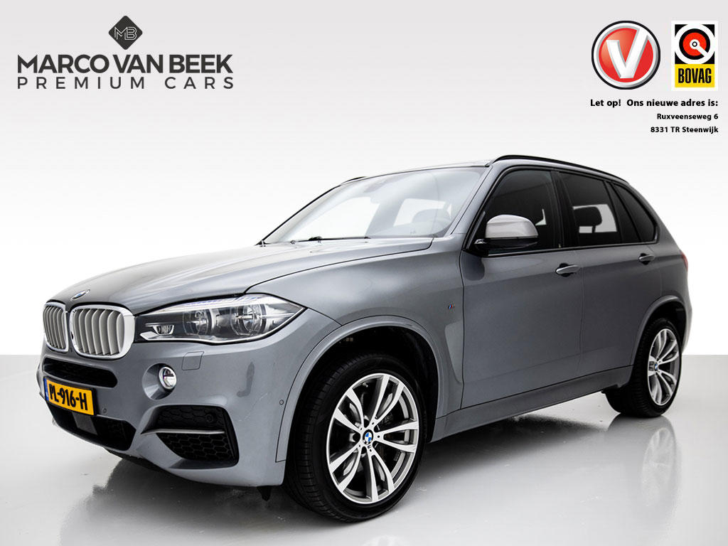 Bmw X5 5.0d m pano leer acc head up nw.pr.€ 142.677