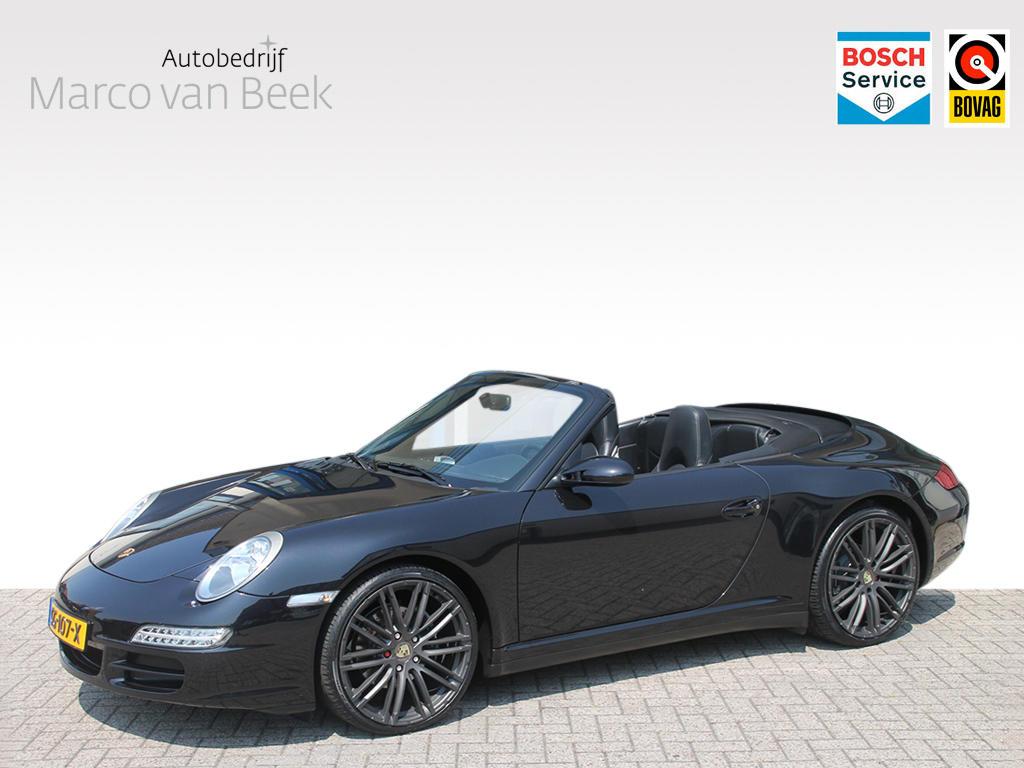 Porsche 911 Cabrio 3.6 carrera 4 aut. hardtop navi xenon memory