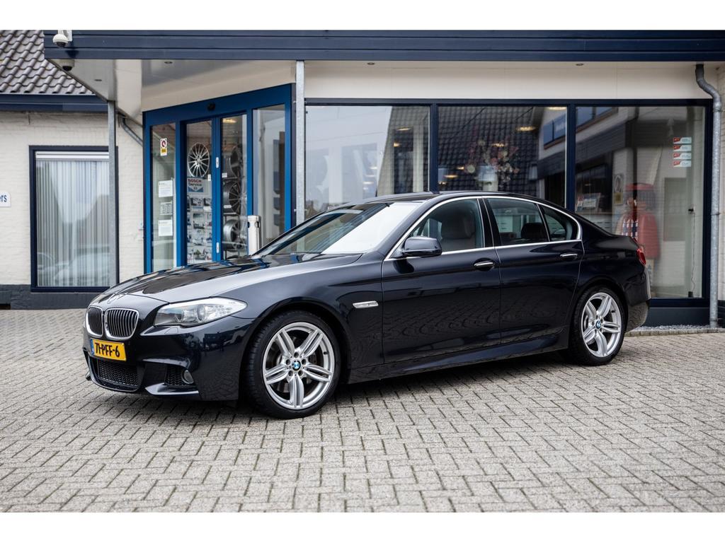 Bmw 5 serie 525d high executive aut. m-pakket comfortstoelen leer navi xenon verkocht