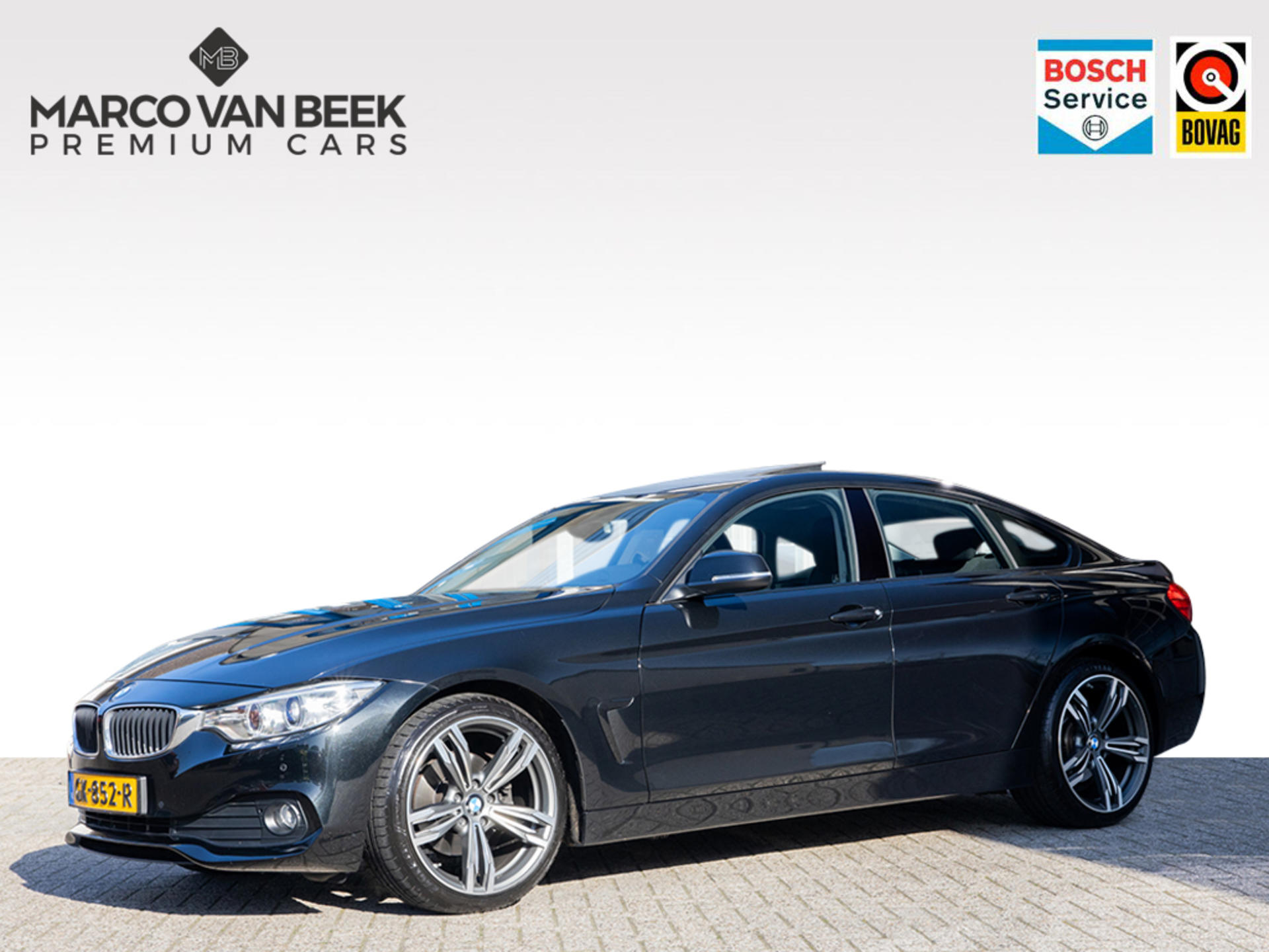 Bmw 4 serie 420 d gran coupé aut. navi xenon schuifdak 19 inch