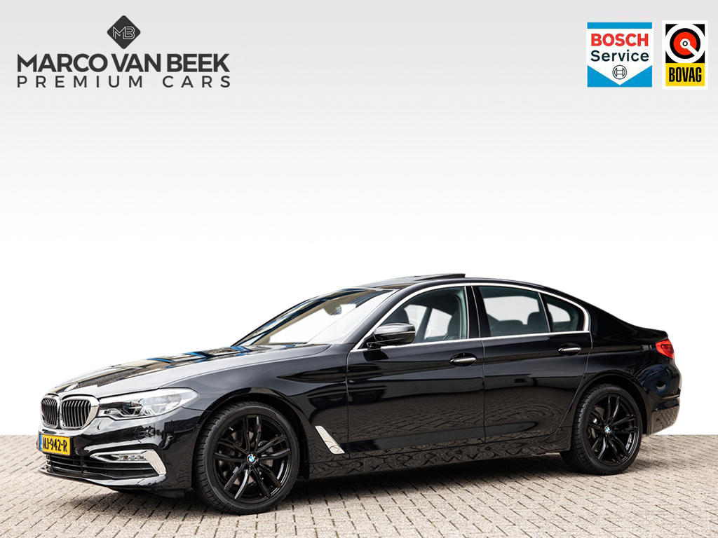 Bmw 5 serie 520 d luxury line aut. dak leer head up nw.pr €79.657
